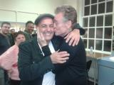 A kiss from Brian Travers/UB40 Saxophonist